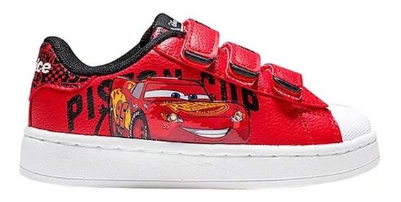 Zapatillas Addnice Flow Cars Abrojo Rojo Con Luz (3429)