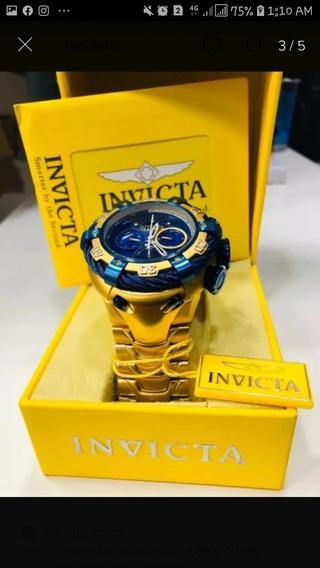 Relógio Top Invicta Thunder Bolt Com Caixa.
