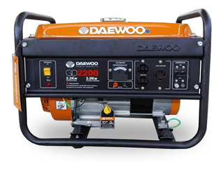 Grupo Electrogeno Daewoo Generador Gd2200 2200w - Prestigio