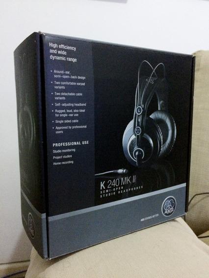 Akg K 240 Mk Ii Headphone Fone Profissional