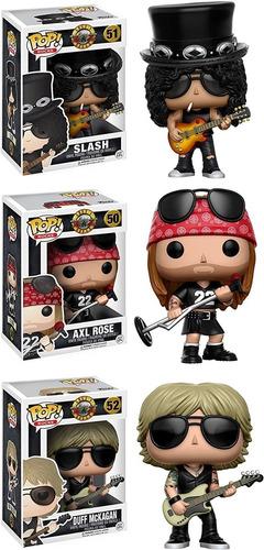 Funko Pop! Guns N Roses Set X3