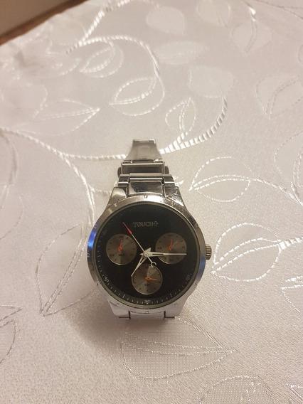 Relógio De Pulso Touch Casual Prata Analógico - S9122g/22