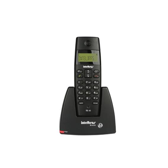 Telefone Sem Fio Ts 40 Com Identificador Preto Ref. 4070340