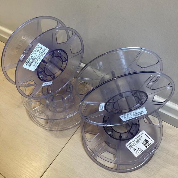 Carretel Rolo Filamento 3d Abs Pla Vazio Usado - Kit 5 Unid