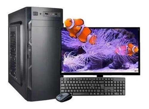 Imagem 1 de 5 de Computador Intel 8gb Ram Hd500gb C/monitor 18,5 Wifi Wind 10
