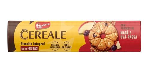 Imagem 1 de 1 de Biscoito Cereale & Frutas Maçã E Uva Passa Bauducco 141g