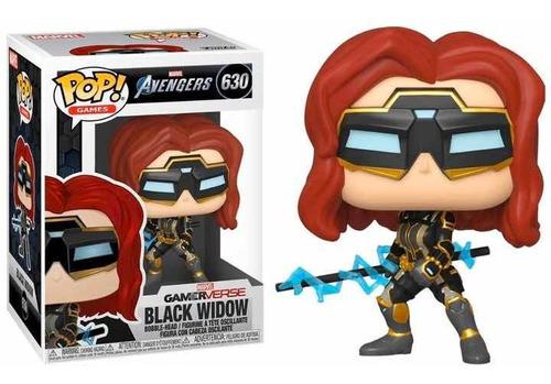 Black Widow- Pop! Games: Avengers Gamerverse