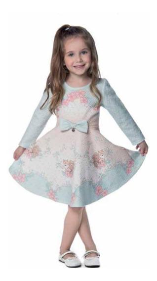 Vestido Petit Cherie Festa Infantil Sem Manga 11.12.31016