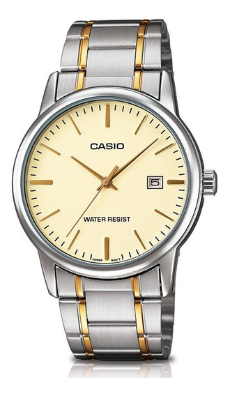 Relógio Casio Collection Masculino Mtp-v002sg-9audf