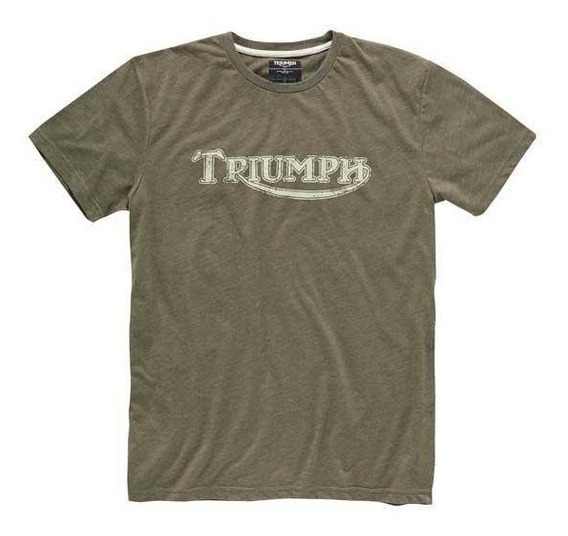 Camiseta Logo Triumph Vintage