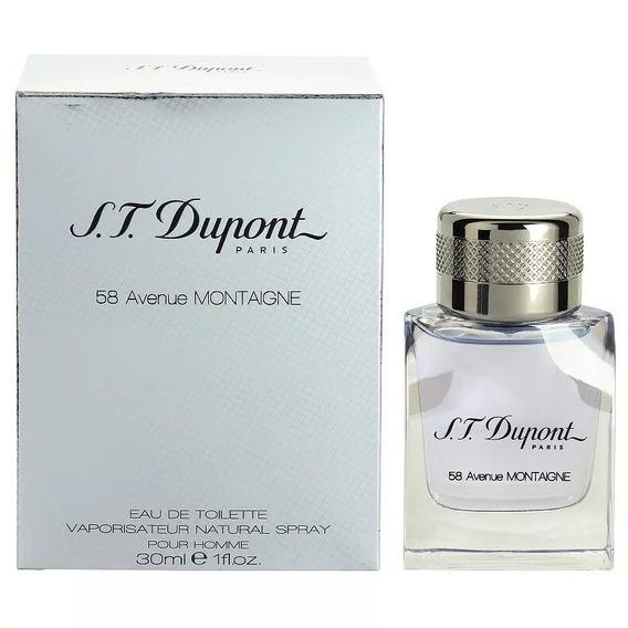 Perfume 58 Avenue Montaigne Pour Homme S.t.dupont Edt 30ml