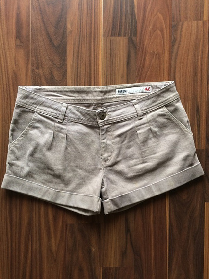Shorts Sarja Feminino Forum Selected 42 Original Oferta