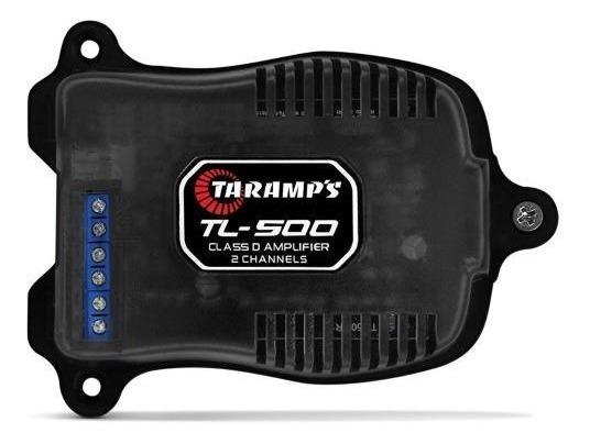 Modulo Taramps Tl500 100w Rms 2 Canais Amplificador Tl 500