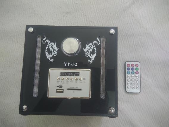Caixa De Som Mp3 5 W Rms Sd/usb/fm Yp-52