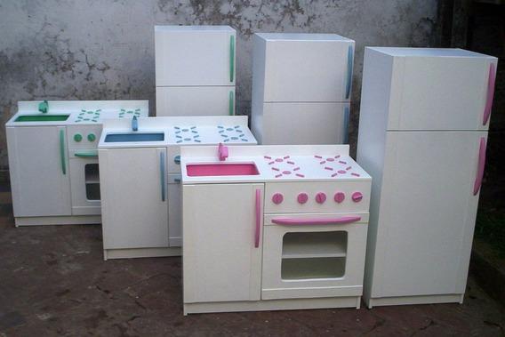 Juego Cocina De Juguete Niños Nene Nena Infantil Madera
