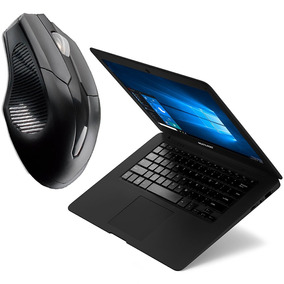 Notebook Quad Core Atom Kit Com Mouse Win10 2gb Ram