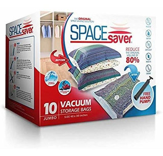 Bolsas De Almacenamiento Al Vacío De Spacesaver Premium,