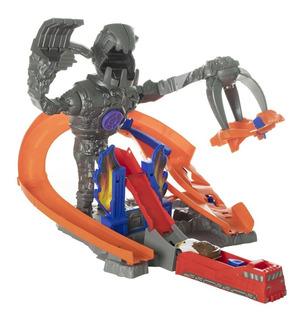 Pk Pista Carreras Robot Autos Juguetes Regalo Niños 9988-2