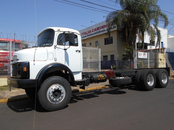 Mercedes Benz 2216 86 6x4 Único Dono Chassi