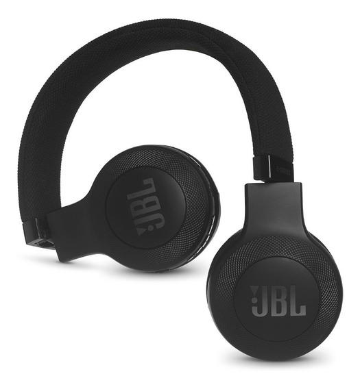 Fones De Ouvido Supra-auriculares Jbl E45bt Sem Fios Preto