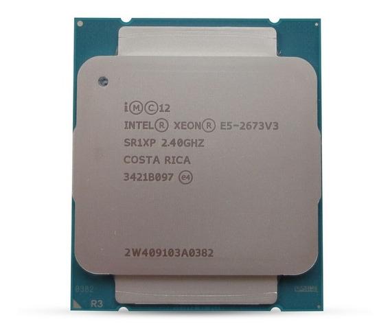 Processador Servidor 2011 Intel Xeon E5-2673 V3