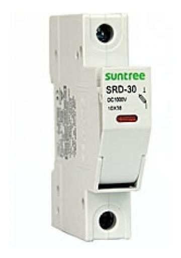 Porta Fusível Solar Fotovoltaico Cc 1000v Certificado Tuv