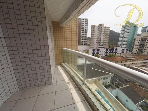 Apartamento À Venda, 78 M² Por R$ 395.000,00 - Canto Do Forte - Praia Grande/sp - Ap2911