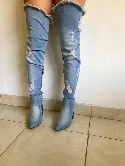 Botas Bucaneras De Jean