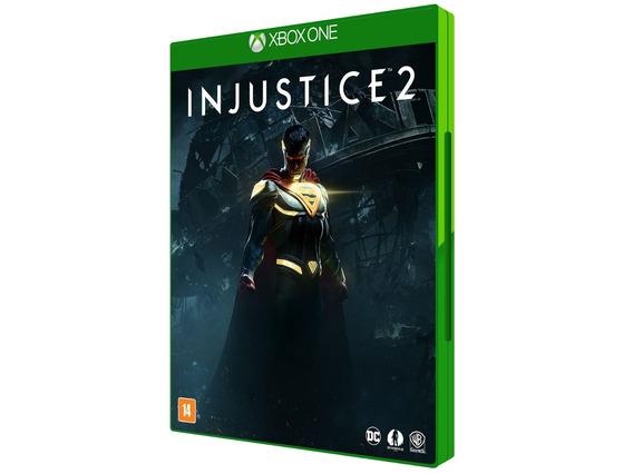 Injustice 2 Para Xbox One Mídia Física - Warner