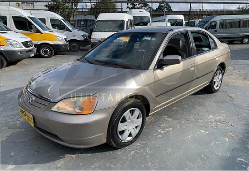 Honda Civic 2001  Lx 1.6 Completo Automático
