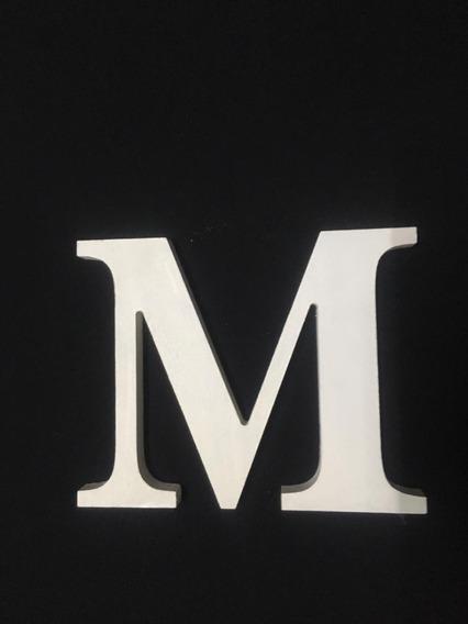 Letras En Fibrofacil De 20cm De Alto