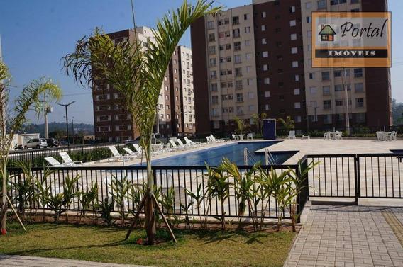 Apartamento Com 2 Dormitórios Para Alugar, 48 M² Por R$ 1.150/mês - Jardim Da Felicidade - Várzea Paulista/sp - Ap0085