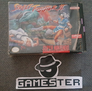 Street Fighter 2 Super Nintendo Snes