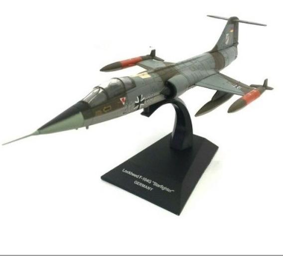 Aviões Combate Lockheed F-104g Starfighter Deagostini Novo!!