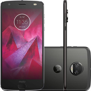 Motorola Moto Z2 Force Xt1789 64/6gb 12mp Preto Mancha Tela