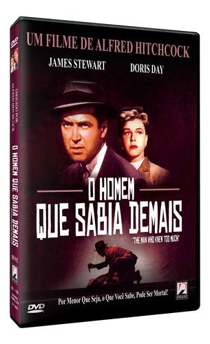 Imagem 1 de 1 de O Homem Que Sabia Demais - Dvd - James Stewart - Doris Day