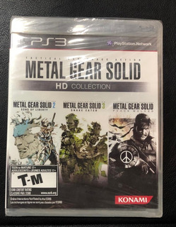 Metal Gear Solid Hd Collection Ps3 ( Sellado) Envíos Grátis