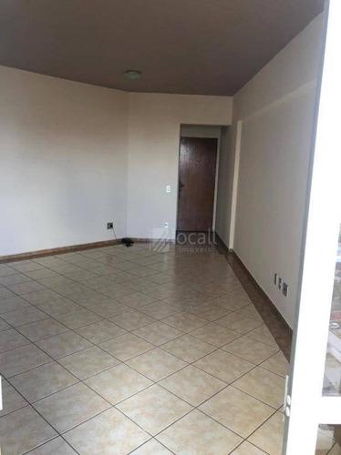 Apartamento Com 3 Dormitórios Para Alugar, 97 M² Por R$ 1.200,00/mês - Vila Nossa Senhora Aparecida - São José Do Rio Preto/sp - Ap2501
