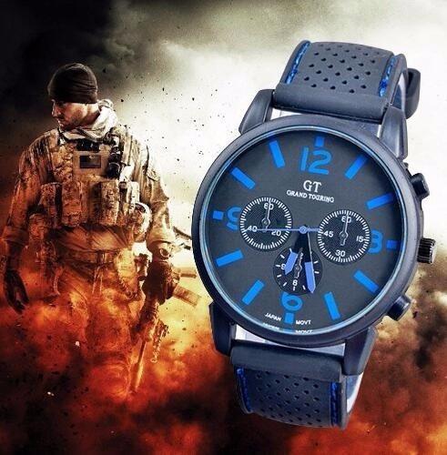 Reloj Para Hombre Deporte Militar Moda