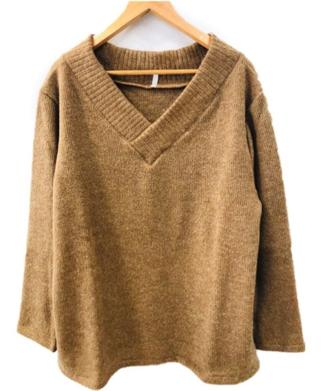 Sweater Pullover Mujer Talles Grandes