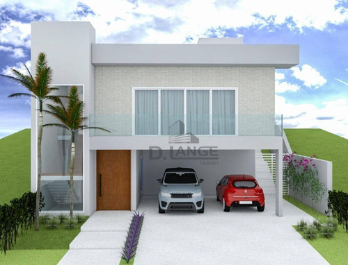 Casa Com 3 Dormitórios À Venda, 220 M² Por R$ 1.350.000,00 - Swiss Park - Campinas/sp - Ca14677