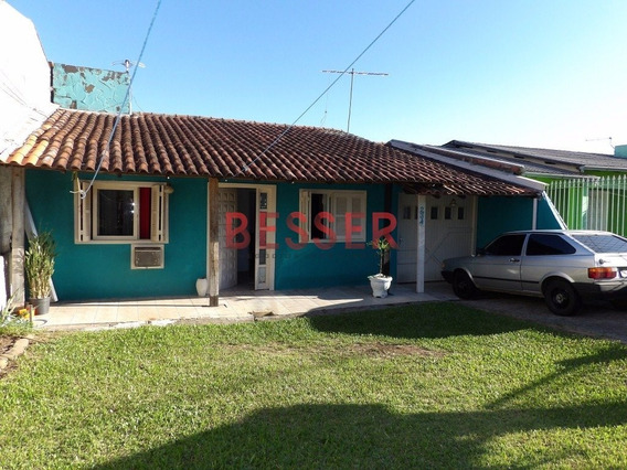 Excelente Casa Com 2 Dormitorios Em Sapucaia - V-626