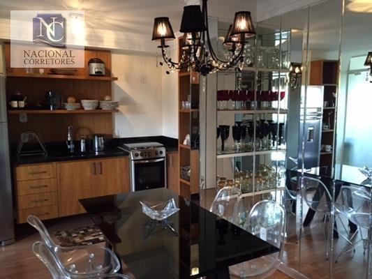 Apartamento Com 1 Dormitório Para Alugar, 49 M² Por R$ 2.500,00/mês - Casa Branca - Santo André/sp - Ap4320