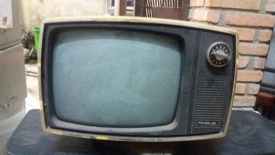 Televisão Antiga Philco Para Colecionador