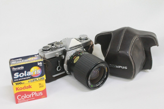 Câmera Olympus Om1 - Analógica Funcionando