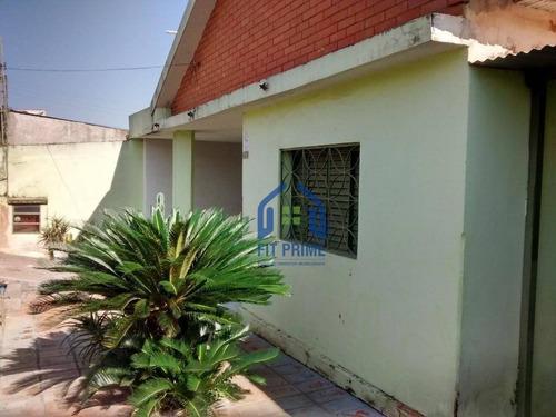 Casa Residencial À Venda, Vila Maceno, São José Do Rio Preto. - Ca1718