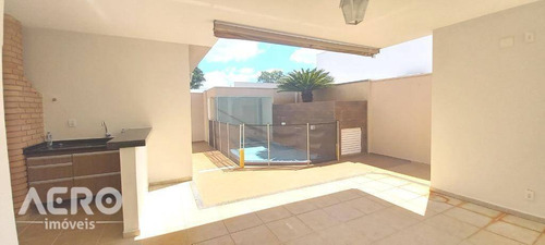 Residencia Terrea Em Condominio Fechado, Repleta Em Armário, Contendo 03 Suítes - Ca2470