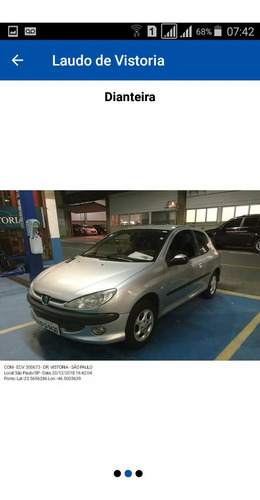 Imagem 1 de 5 de Peugeot 206 2002 1.6 16v Quiksilver 3p