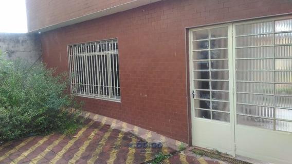 Casa Térrea Com 01 Salão Comercial Com Subsolo - 01463-2