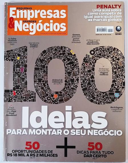Revista Pequenas Empresas E Grandes Negócios Nº 252 - Jan 10